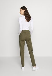 Selected Femme - SLFMEGAN - Chinos - olive night - 2