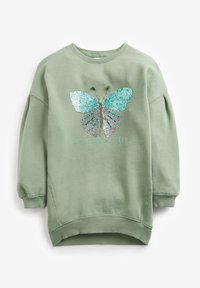 Next - LONGLINE  - Sweatshirt - green - 2