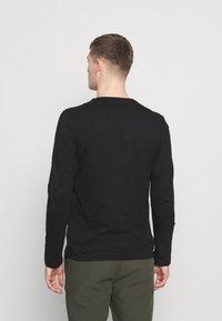 s.Oliver - Långärmad tröja - black - 2