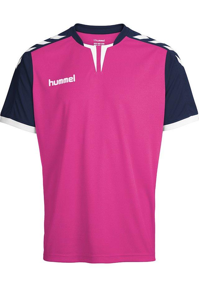 CORE - T-shirt print - rose violet/marine pr
