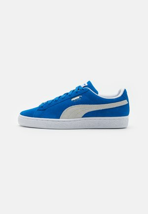 SUEDE TEAMS - Trainers - royal/white