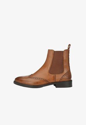 TONI  - Classic ankle boots - cognac
