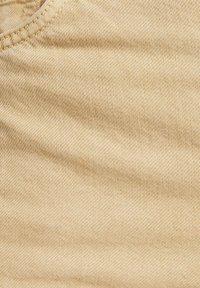Bershka - WIDE LEG - Široké džíny - camel - 5