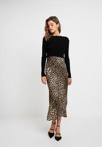 AllSaints - HERA LEPPO DRESS SET - Day dress - black - 0