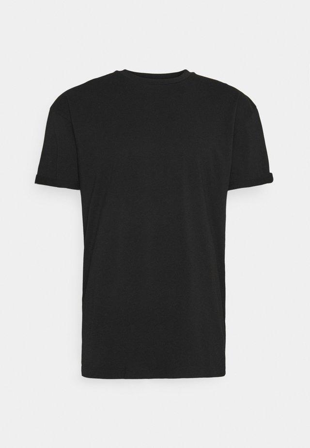 THILO - Basic T-shirt - black