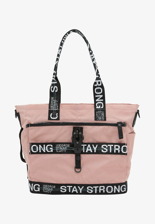 LITTLE STYLER - Baby changing bag - dusty rose