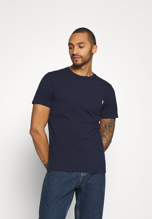 CHEST POCKET - Basic T-shirt - night