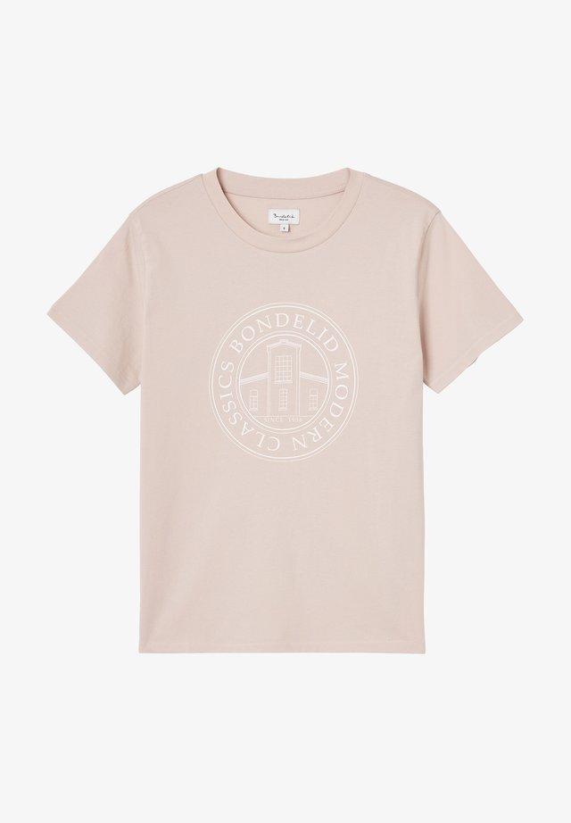 Printtipaita - rose smoke