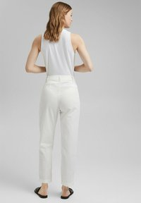 Esprit Collection - FASHION - Trousers - white - 2