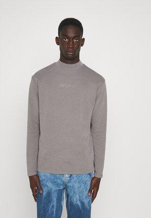 SIGNATURE HIGH NECK - Sweatshirt - lightgrey