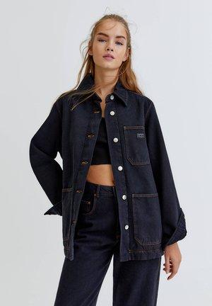 WORKWEAR - Long sleeved top - mottled black