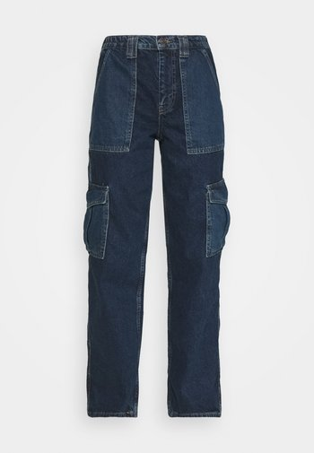 COLOURBLOCK SKATE - Relaxed fit jeans - dark vintage