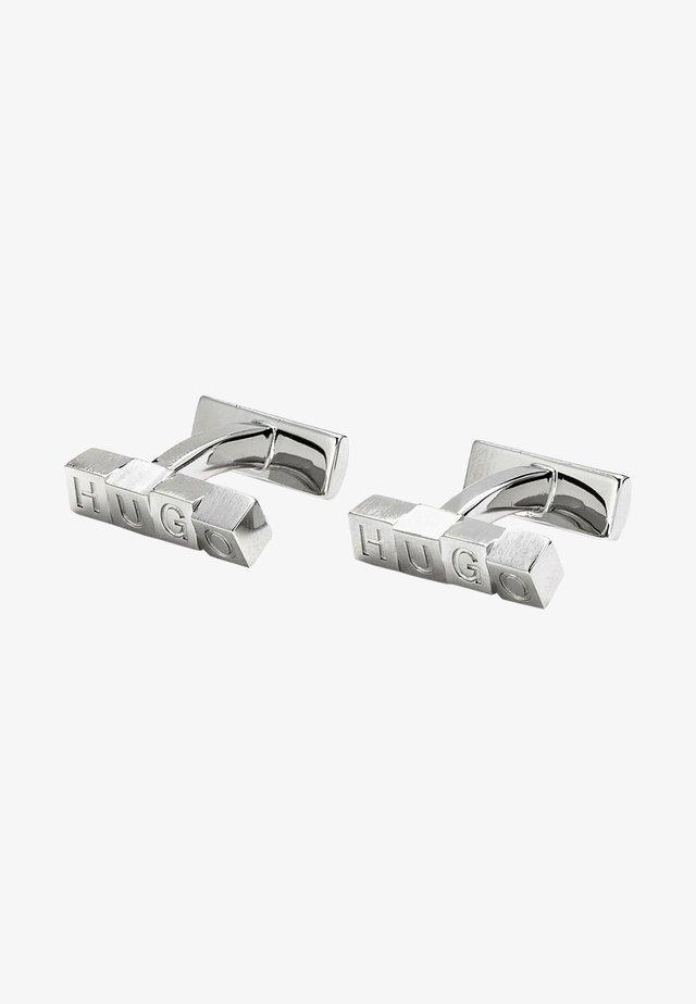 E-CUBES - Boutons de manchette - silver