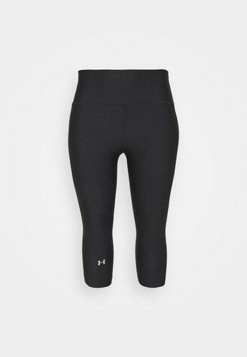 HIGH RISE CAPRI - 3/4 sports trousers - black