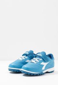 Diadora - PICHICHI 2 TF - Fußballschuh Multinocken - sky-blue/white - 3