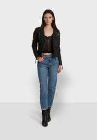 Oakwood - SAMANTHA  - Leather jacket - black - 1