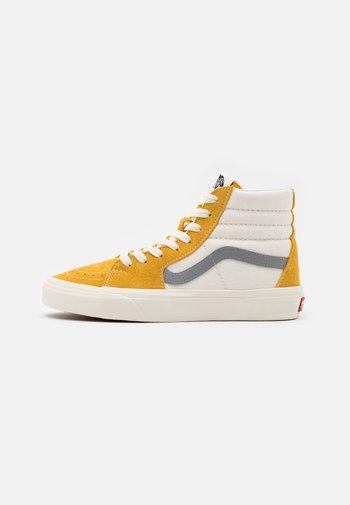 SK8 UNISEX - Höga sneakers - honey gold/marshmallow