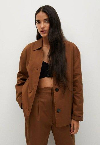 NOMO - Summer jacket - braun