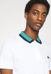 Lacoste - Polo shirt - blanc/niagara/marine - 5
