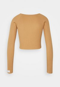 Missguided - LOUNGE ROUCH FRONT - Jumper - camel - 1