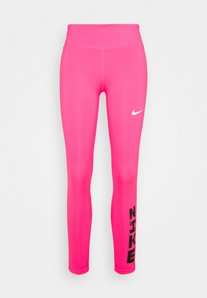 FAST - Tights - hyper pink/white