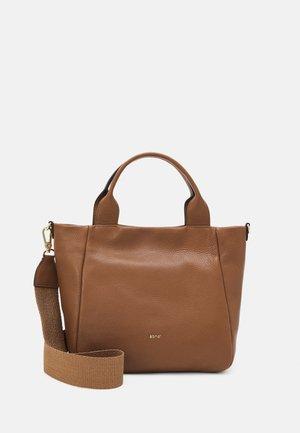 SHOPPER KAIA SMALL  - Shopping bag - caramel/cognac
