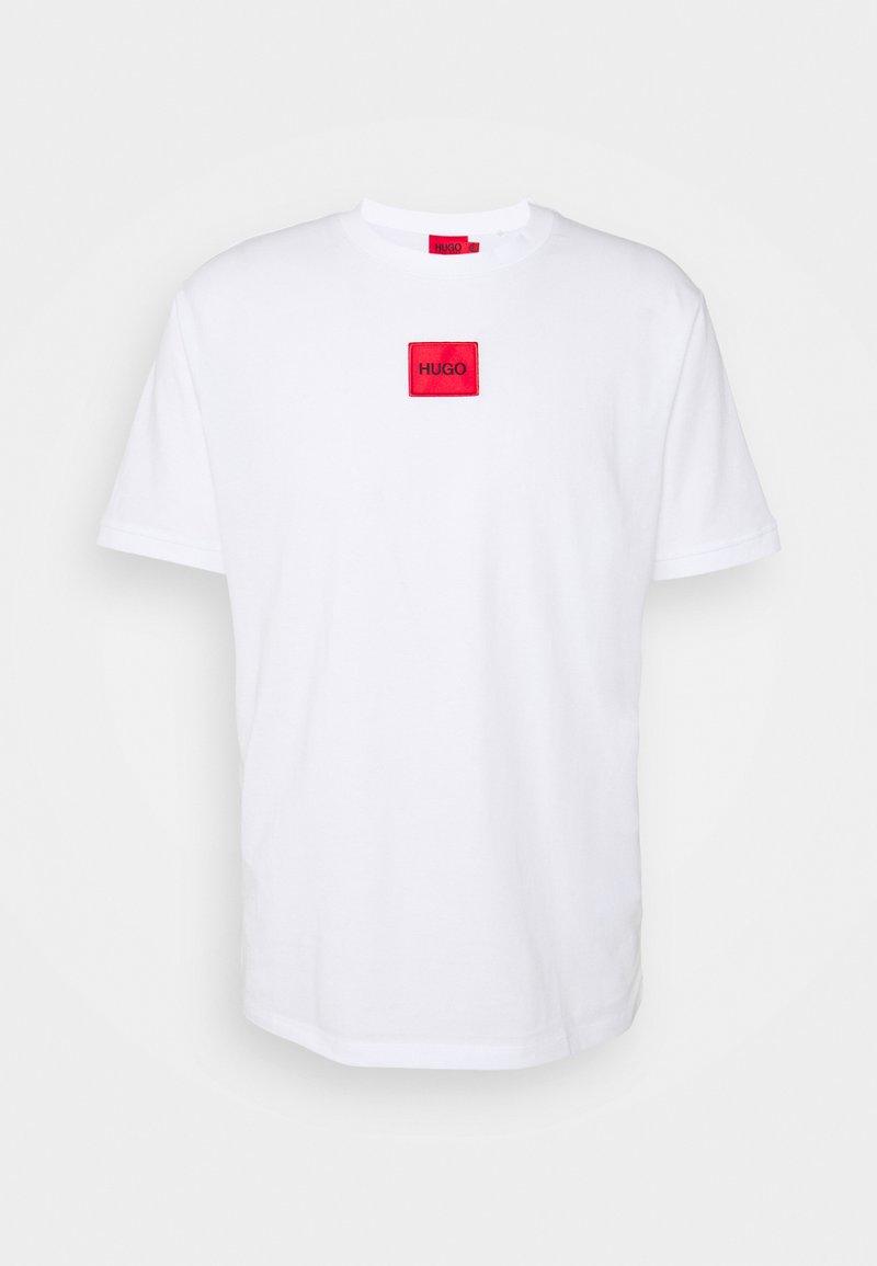 HUGO - DIRAGOLINO - T-shirt - bas - white