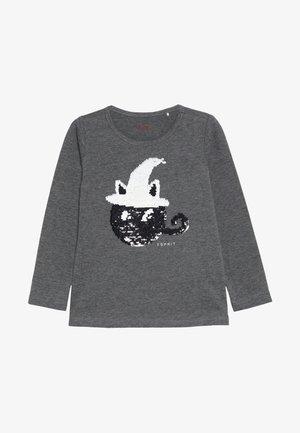 HALL - Langarmshirt - dark heather grey