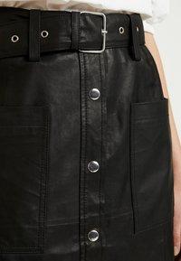 YAS - YASANDREA NAPPALON SKIRT - A-line skirt - black - 4