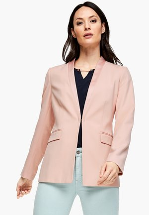 MIT SATIN-DETAILS - Blazer - dusty rose