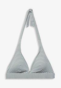 Esprit - MIT STREIFEN - Bikini top - olive - 4
