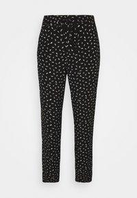 TOM TAILOR - PANTS - Trousers - black - 0