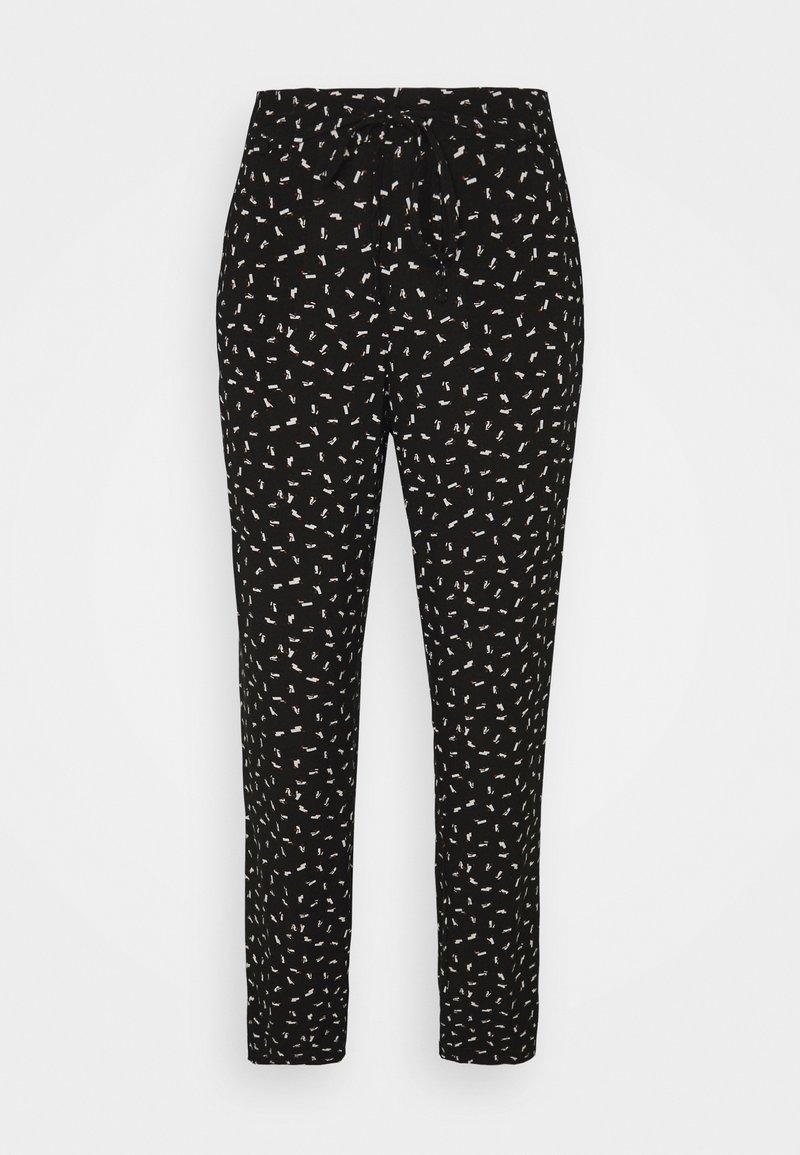 TOM TAILOR - PANTS - Trousers - black
