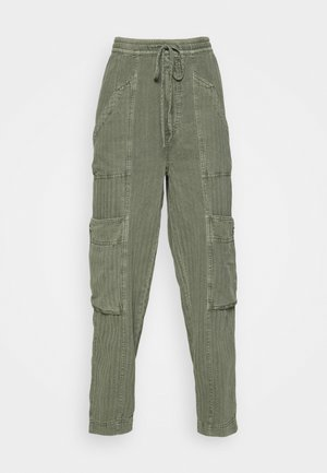 FEELIN GOOD UTILITY PULL - Trousers - eden