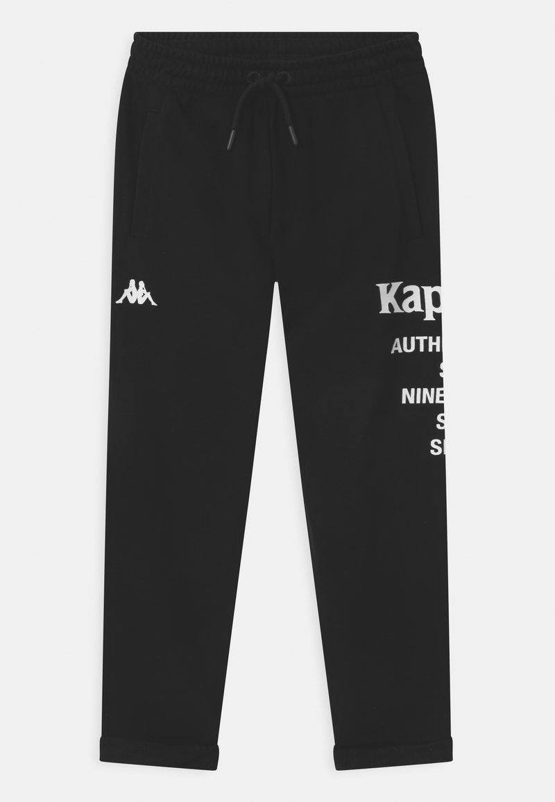 Kappa - ILAY UNISEX - Pantalones deportivos - caviar