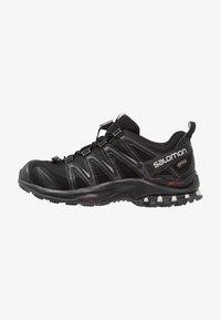 Salomon - XA PRO 3D GTX - Trail running shoes - black/black/mineral grey - 0