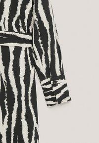 Massimo Dutti - Shirt dress - brown - 4