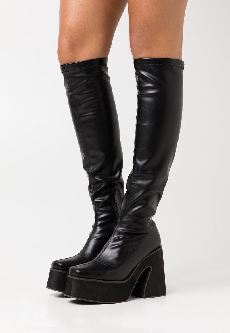 Koi Footwear - VEGAN - Boots med høye hæler - black