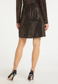 usha - A-line skirt - schwarz nude - 2