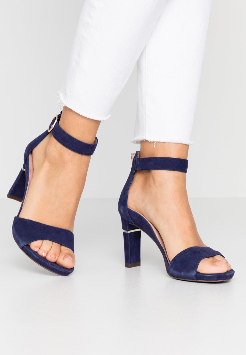 Tamaris Heart & Sole - Korolliset sandaalit - cobalt