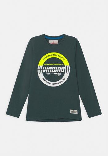 JENTO - Long sleeved top - steel green