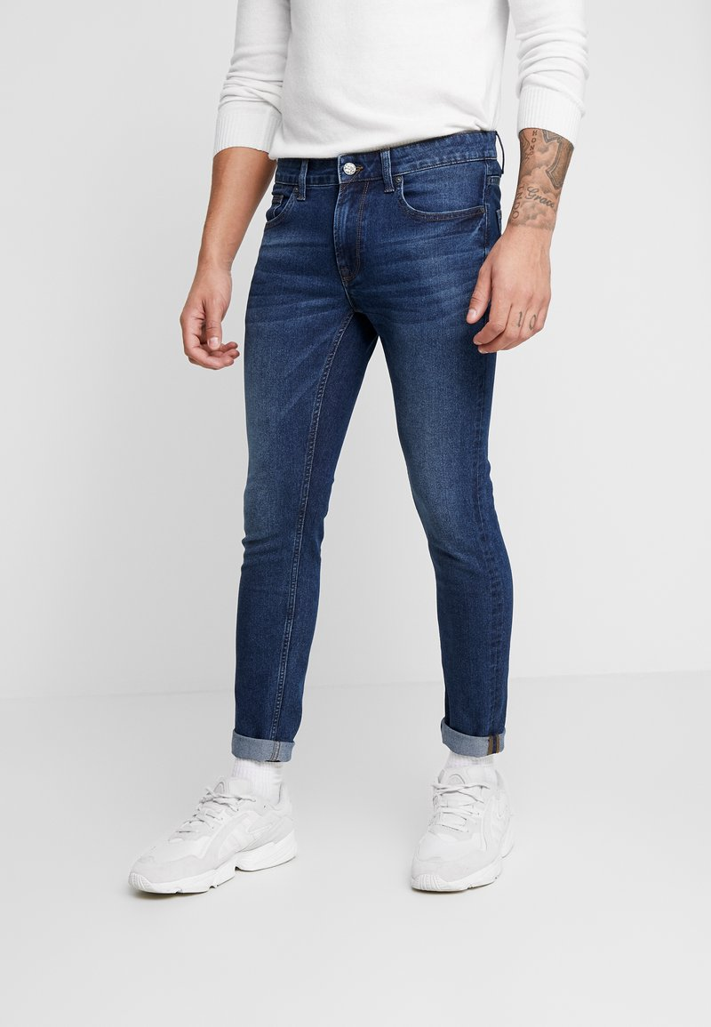 Only & Sons - ONSWARP - Skinny-Farkut - blue denim