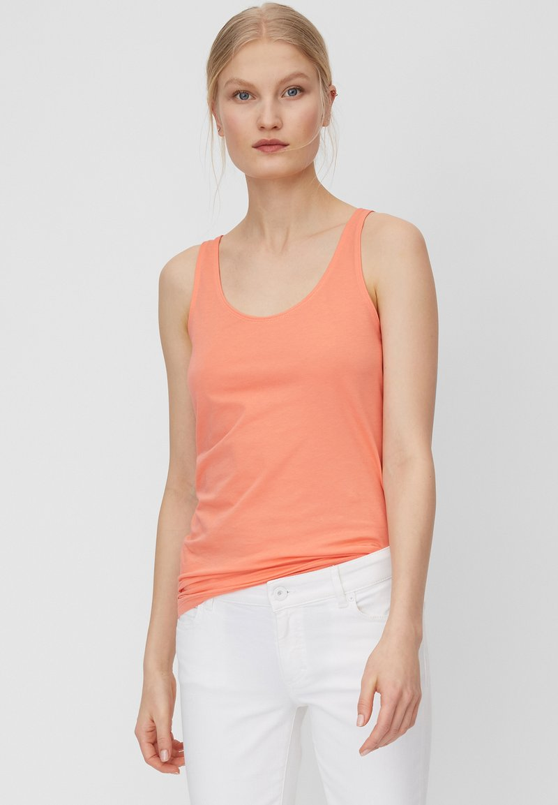 Marc O'Polo - MARC O'POLO TOP AUS ELASTISCHER ORGANIC COTTON-QUALITÄT - Top - salty peach