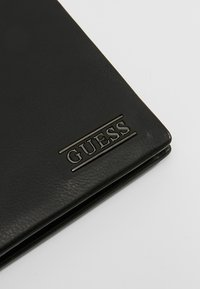 Guess - NEW BOSTON BILLFOLD COIN - Wallet - black - 2
