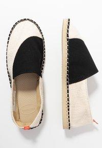 Havaianas - ORIGINE ELASTIC - Loafers - white/black - 3