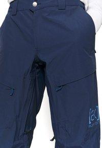 Burton - GORE SWASH DRESS - Snow pants - dress blue - 7