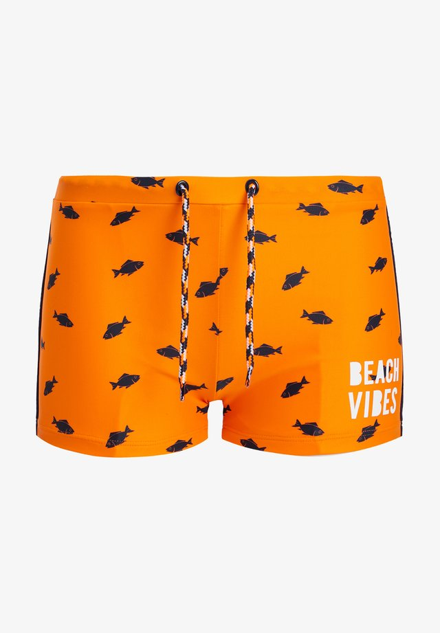 Zwemshorts - bright orange