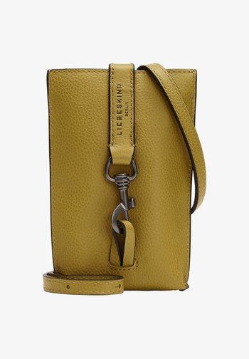 Across body bag - dark dijon yellow