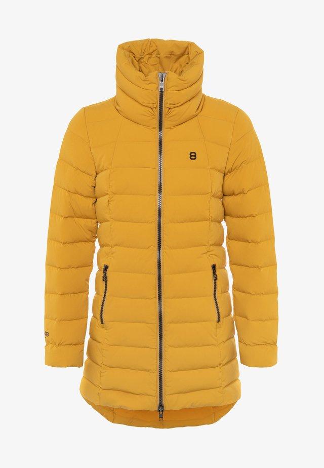 COAT - Down coat - mustard