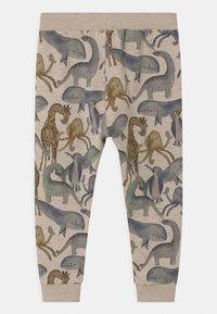 Name it - NMMFRALL - Teplákové kalhoty - peyote melange - 1